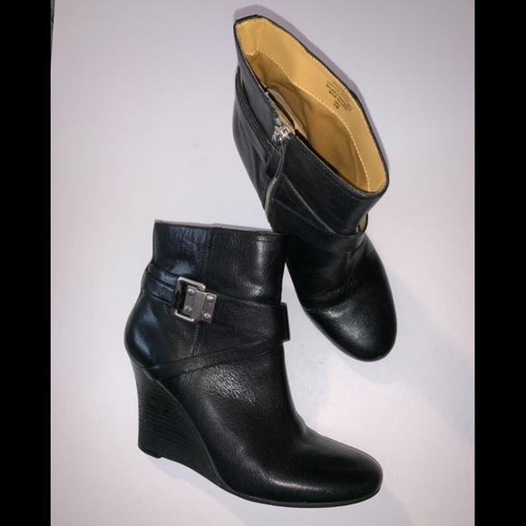 2b1a5ede5 ... Wedge Bootie Boots 9. Nine West. M_5c58964fc617777a99de0a4f.  M_5c589651035cf17094951b0c. M_5c589655de6f6207ba46d6bc